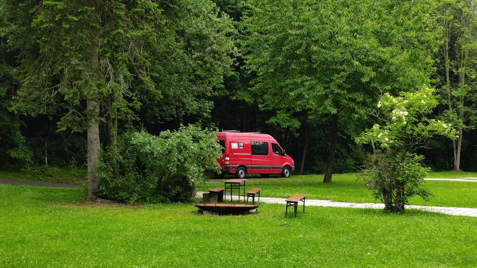 Naturcamping Oberpfälzer Wald